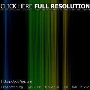 Синие и зеленые полосы