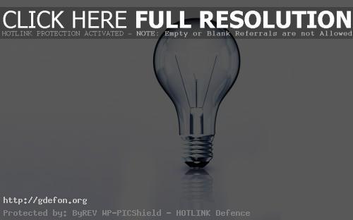 Обои Лампочка фото картики заставки