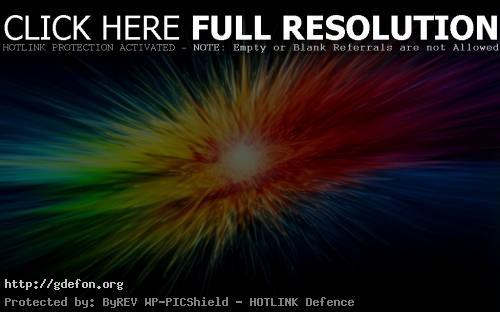Красивые обои взрыв из ярких цветов на