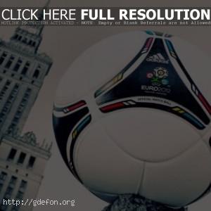 Футбольный мяч euro 2012