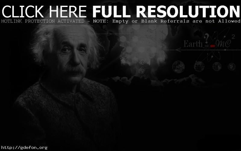 Обои эйнштейн и теория относительности фото картики заставки