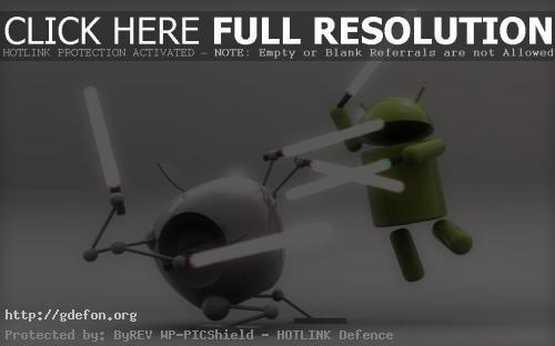Обои Apple vs Android фото картики заставки