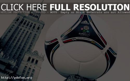 Обои Футбольный мяч euro 2012 фото картики заставки