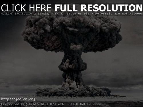 Обои Ядерный взрыв фото картики заставки