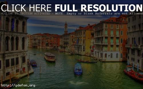 Обои Каналы Венеции фото картики заставки