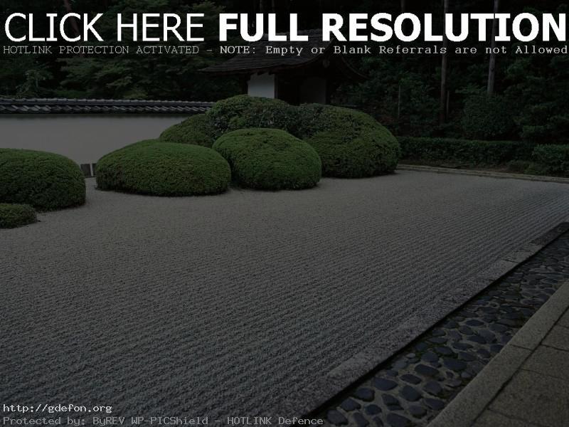Обои Япония, сад, кусты фото картики заставки