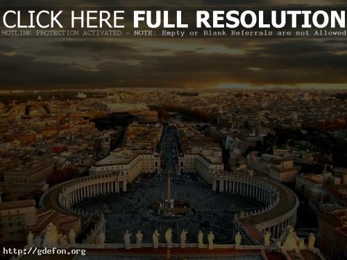 Обои Площадь Ватикана фото картики заставки