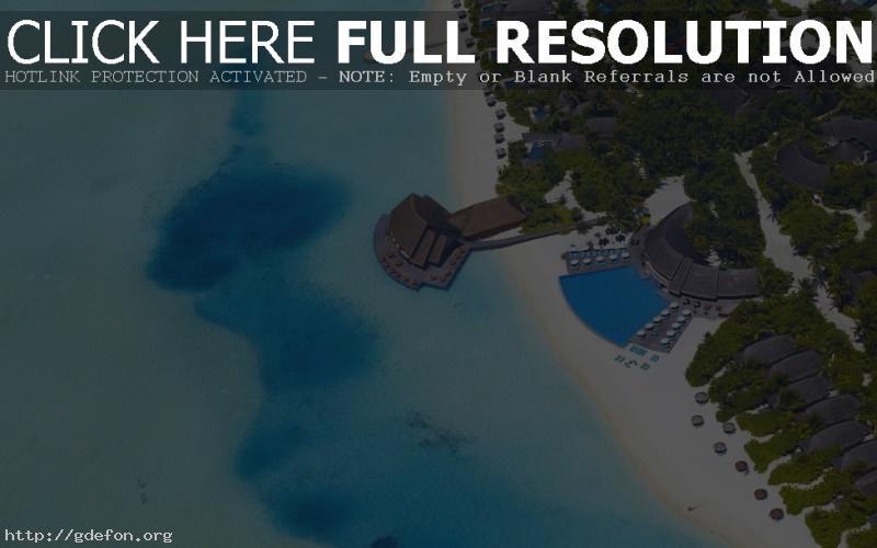Обои maldives фото картики заставки