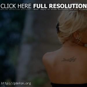 Фото блондинки со спины