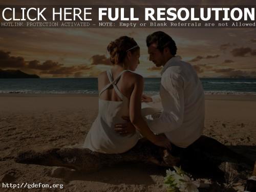 Обои Пляж романтика фото картики заставки