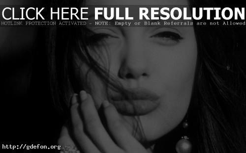 Обои Лицо Анджелины Джоли фото картики заставки