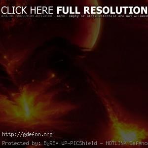 Вулкан, извержение, лава, стихия