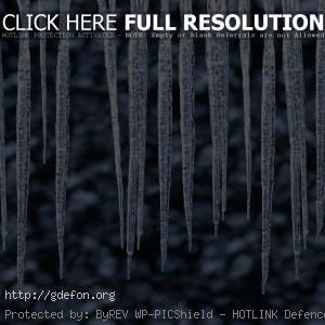 сосульки, капли, зима