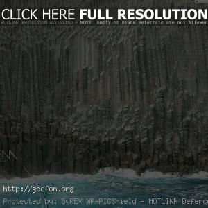 Море, скала, волна, камень