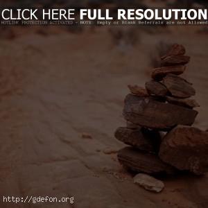 Пирамида из камней