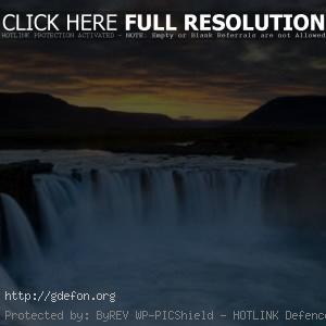 Природа, Река, Водопад, Dettifoss
