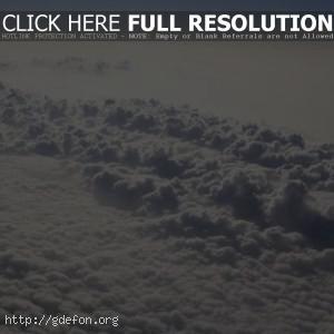 Облака сверху