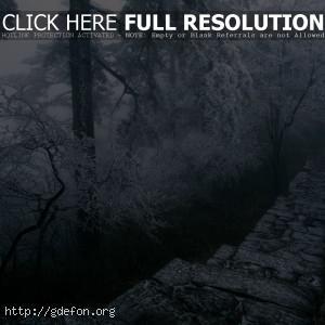 Зимняя дорога в горы
