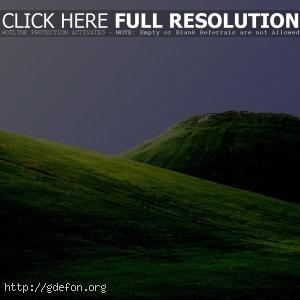 Поля, зелень, горы, холмы