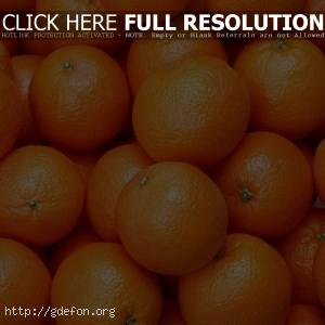 Апельсин, оранжевый, спелый