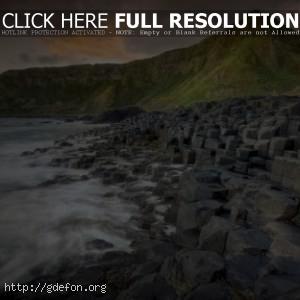 Камни, горы, вода