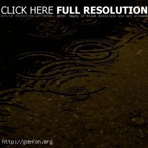 Капли, вода, дождик