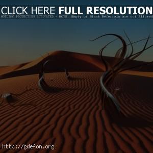 Песок, фантазия, пустыня