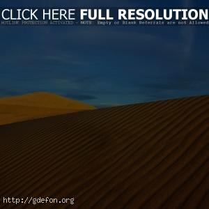 Пейзаж, пустыня, солнце, жара, небо
