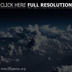 Небо, облака, красиво