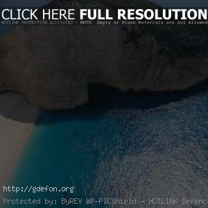 Остров, океан, лодка, пляж, Греция