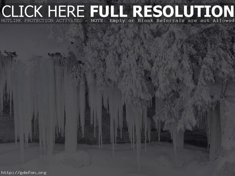 Обои Зима, лед, снег, холод фото картики заставки
