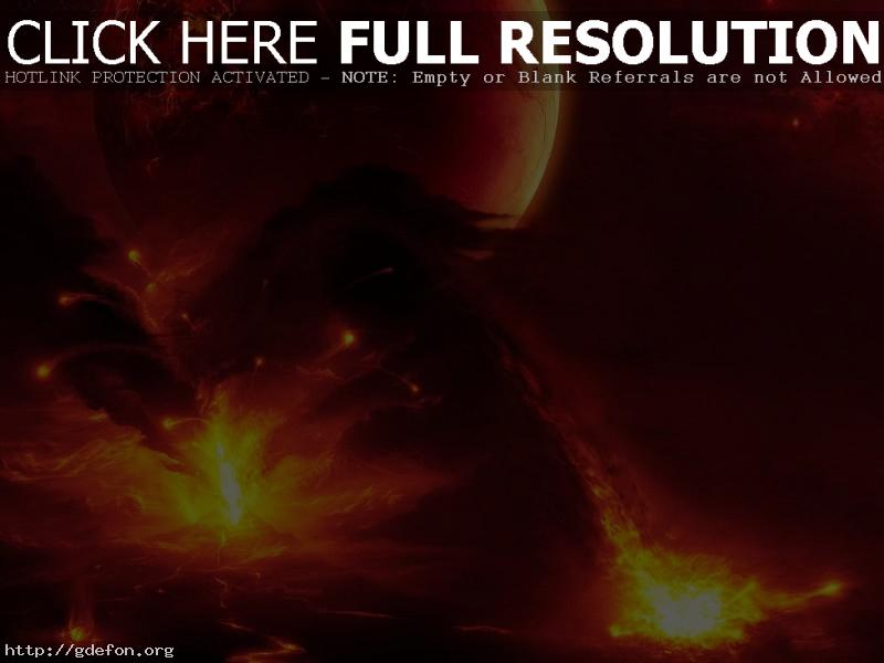 Обои Вулкан, извержение, лава, стихия фото картики заставки