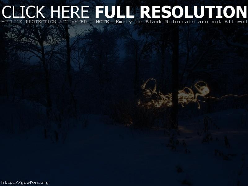 Обои Снег, пейзаж, холод фото картики заставки