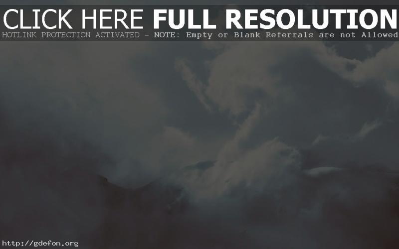 Обои облака, горы, свет фото картики заставки