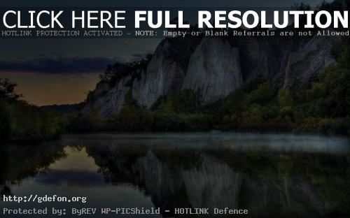 Обои Озеро, горы, лес фото картики заставки