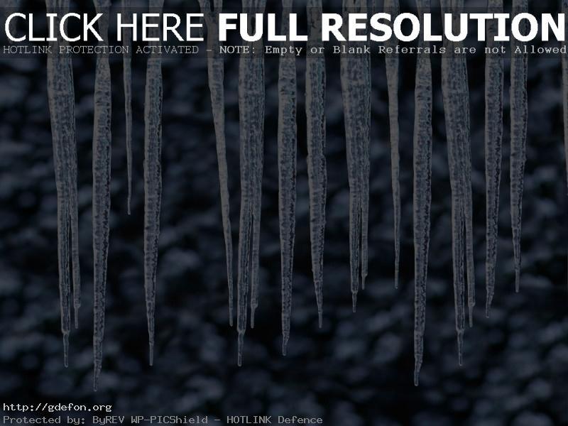 Обои сосульки, капли, зима фото картики заставки