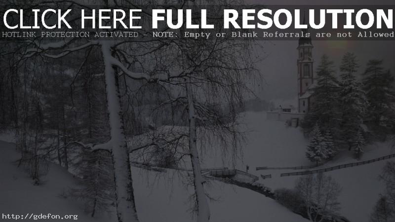 Обои Зима, Тироль, Австрия, снег фото картики заставки