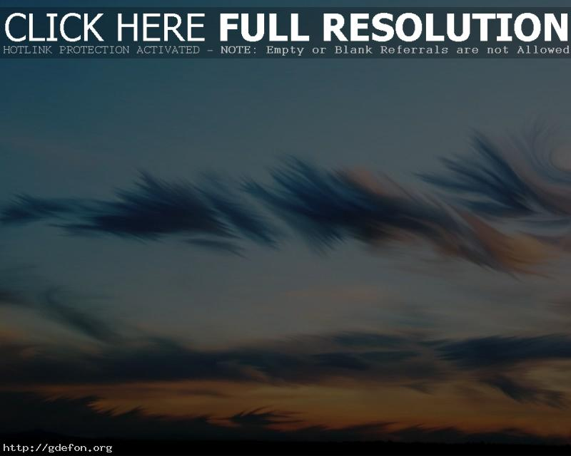 Обои Облака, рисунок, небо фото картики заставки