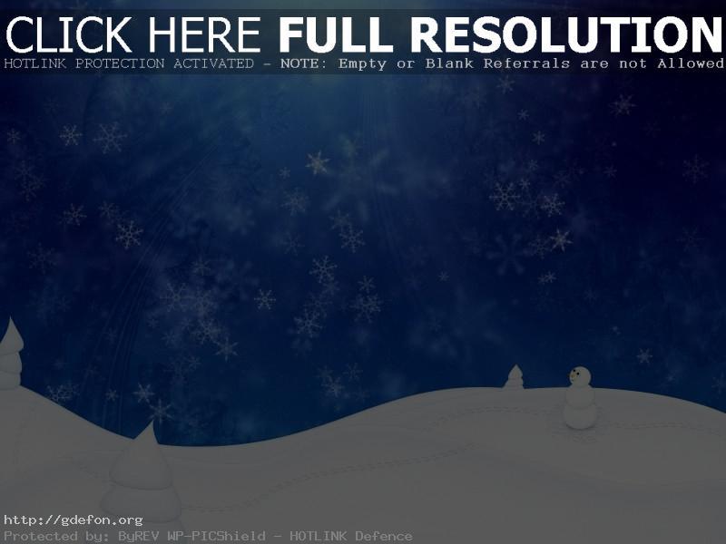 Обои зима, снег, снеговик, снежинки, метель фото картики заставки