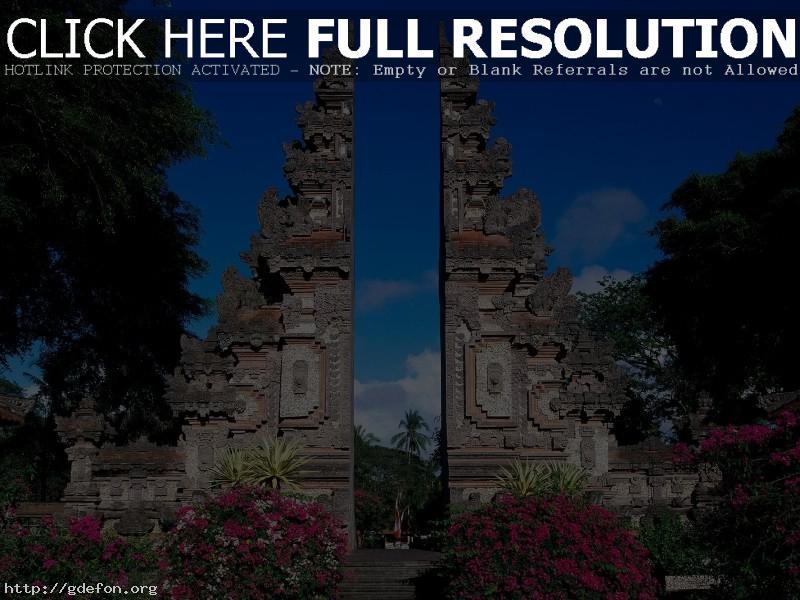 Обои Бали, Индонезия фото картики заставки