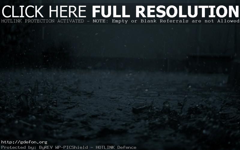 Обои Дождь, капли, настроения фото картики заставки