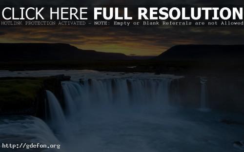 Обои Природа, Река, Водопад, Dettifoss фото картики заставки