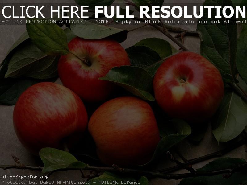 Обои яблоки фото картики заставки