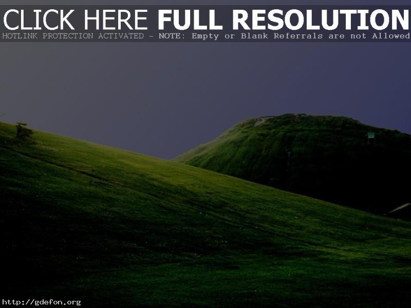 Обои Поля, зелень, горы, холмы фото картики заставки