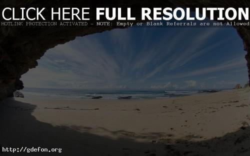 Обои Небосвод, берег, пляж фото картики заставки
