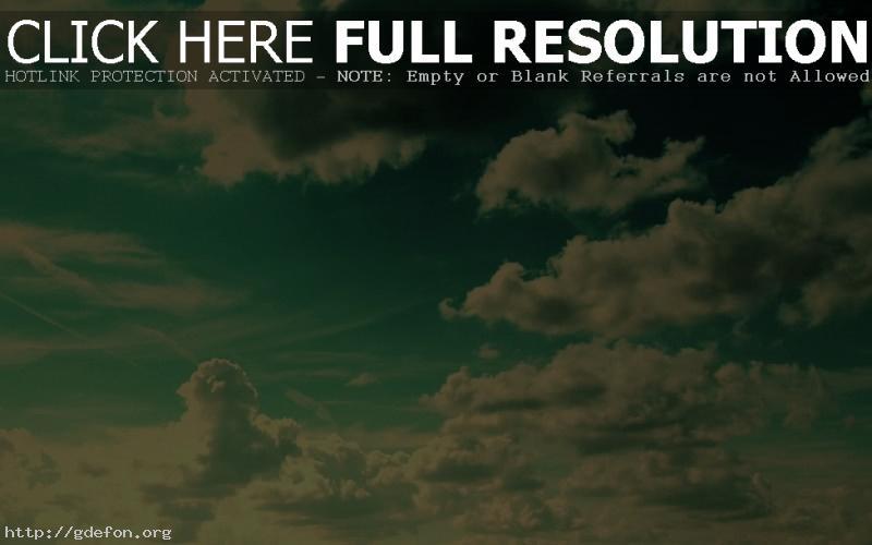 Обои Зеленое небо фото картики заставки