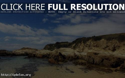 Обои Природа, залив, берег фото картики заставки