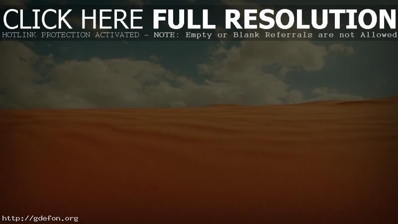 Обои Пустыня, песок, облака, небо фото картики заставки