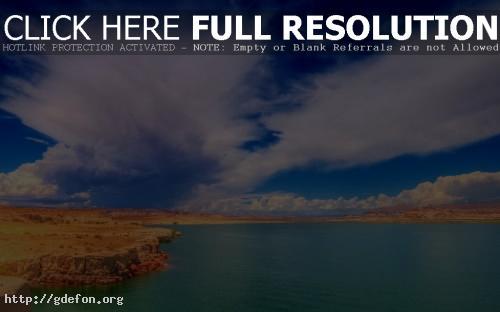 Обои Озеро в пустыне фото картики заставки