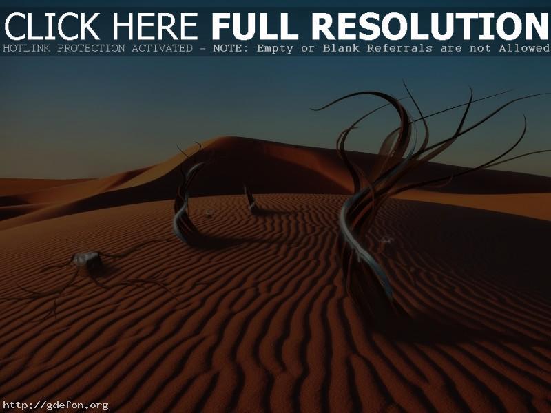 Обои Песок, фантазия, пустыня фото картики заставки